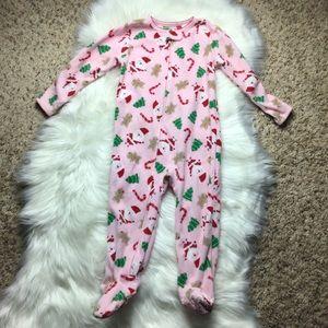 Carter's fleece Pajamas Christmas